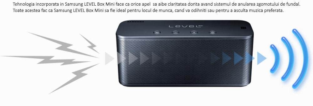 Boxa portabila Samsung Level Box Mini EO-SG900DBEGWW, bluetooth, Negru 4