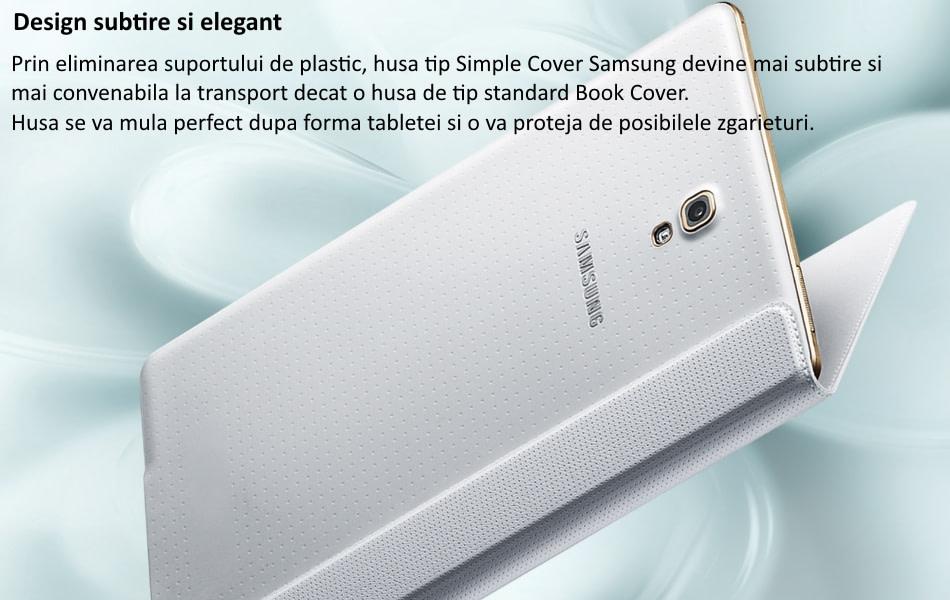 Husa Simple Cover pentru Samsung Galaxy Tab S 8.4 inch