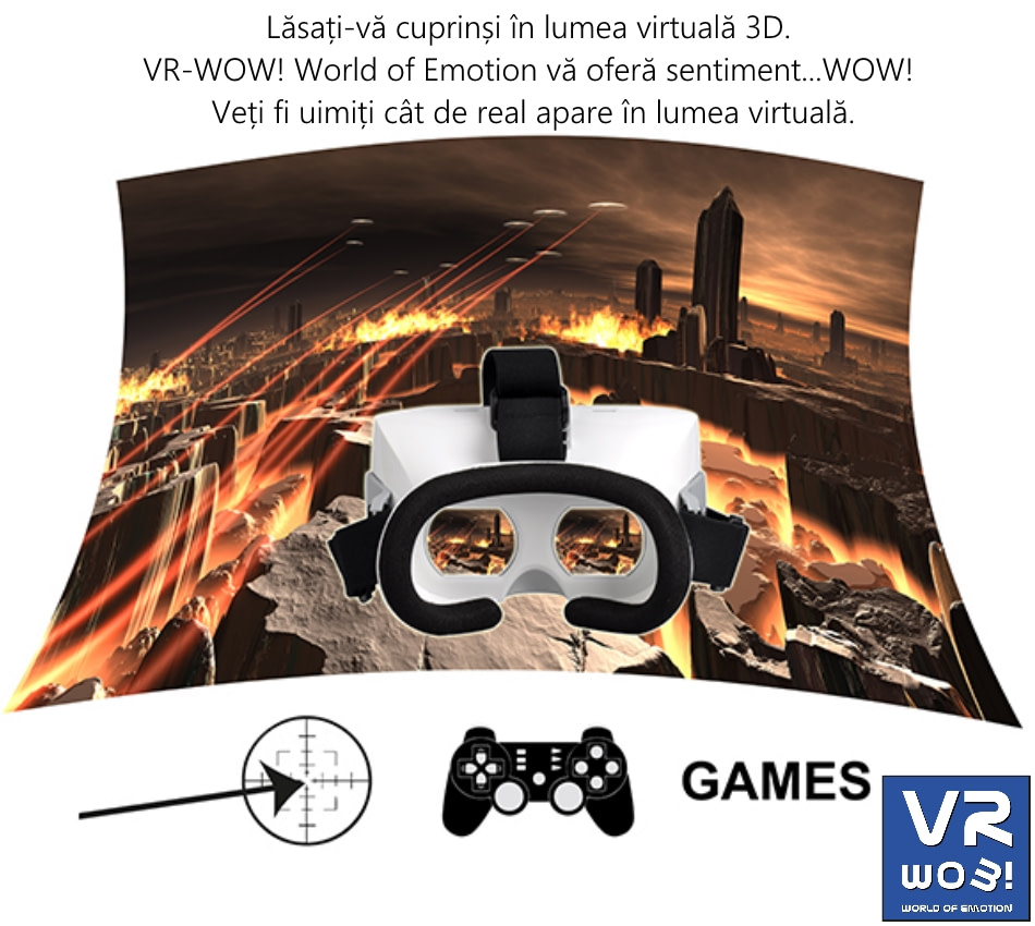 Ochelari VR-WOW! World of Emotion, OB-1411010